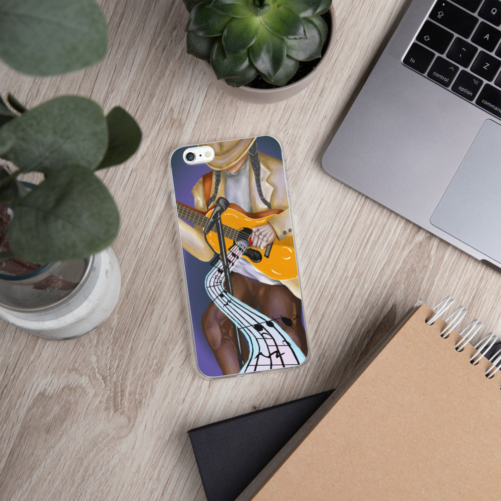 Live At Pinewood iPhone Case - Hebkid Art