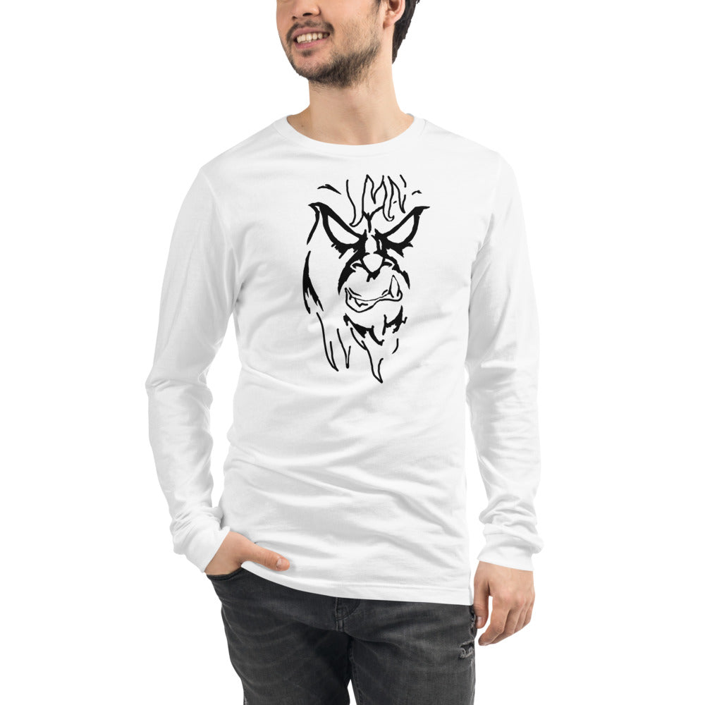 Unisex Long Sleeve Tee - Hebkid Art