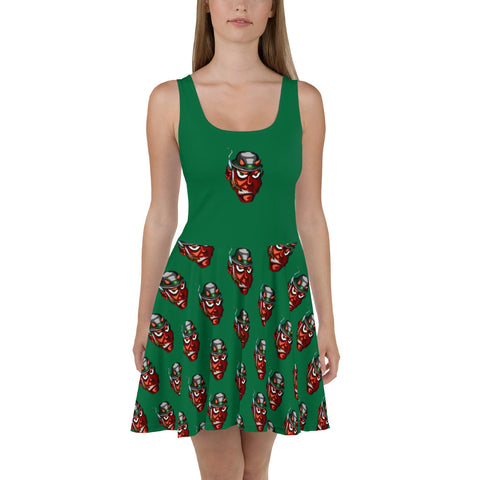 Irish Devil Skater Dress