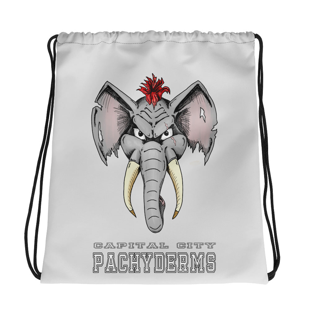 Capital City Pachyderms Drawstring bag