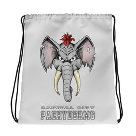 Capital City Pachyderms Drawstring bag - Hebkid Art