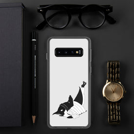 Breakdancin' Penguin Samsung Case - Hebkid Art