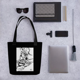 Guarded Tote bag - Hebkid Art