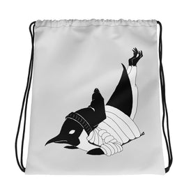 Breakdancin' Penguin Drawstring bag - Hebkid Art