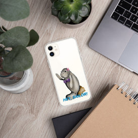 Siren Sea Cow iPhone Case