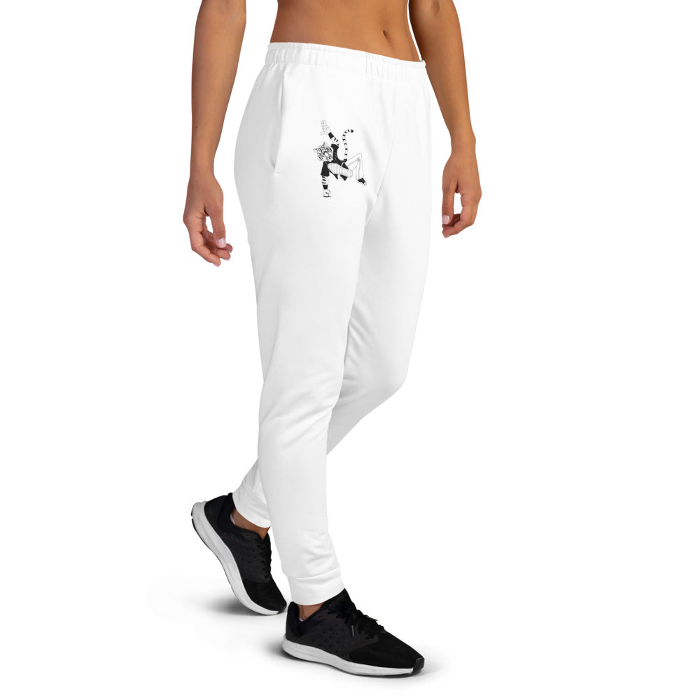 Breakdancin' Tiger Women's Joggers - Hebkid Art