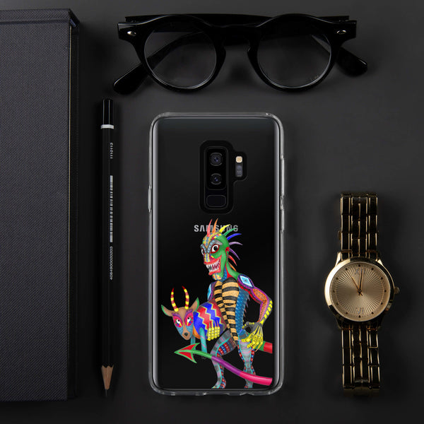 Chupacabra And Goat Samsung Case