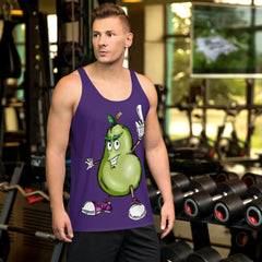Prickly Pear Unisex Tank Top - Hebkid Art