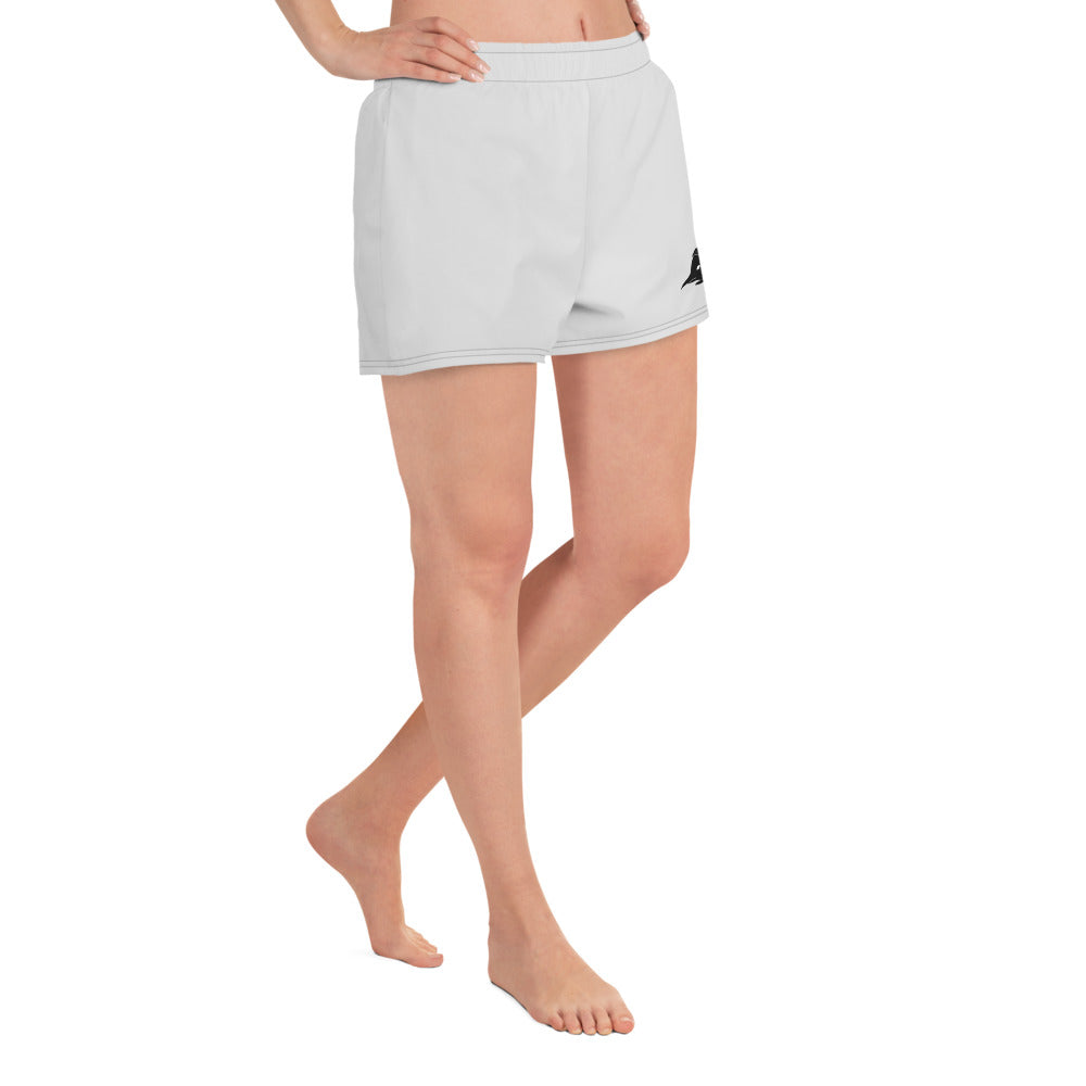 Breakdancin' Penguin Women's Athletic Short Shorts - Hebkid Art