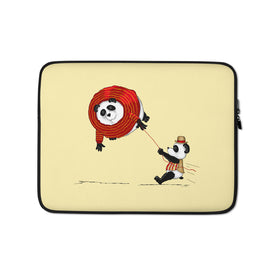 A Friend In Need Laptop Sleeve