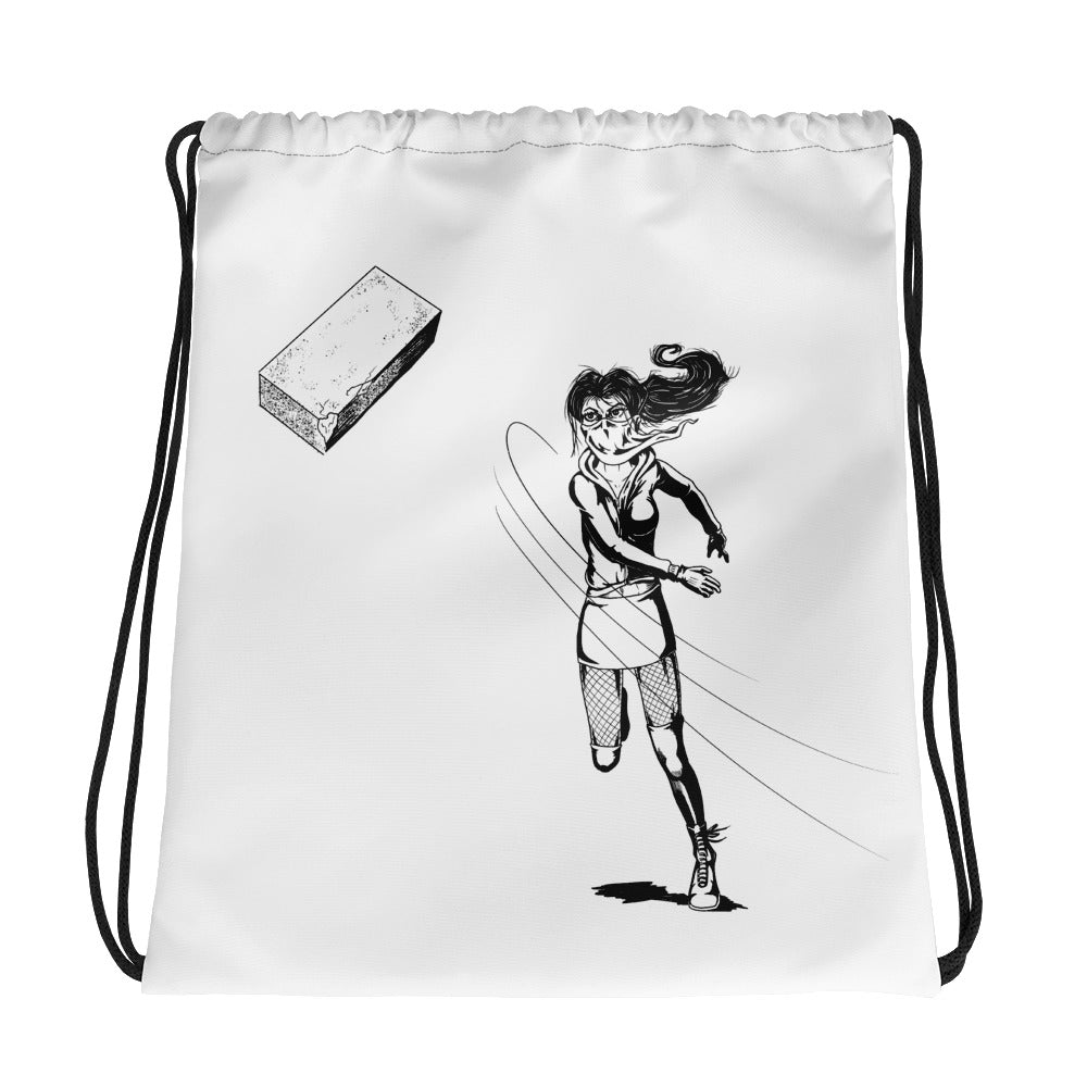 Brick Drawstring bag - Hebkid Art