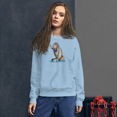 Siren Sea Cow Unisex Sweatshirt - Hebkid Art