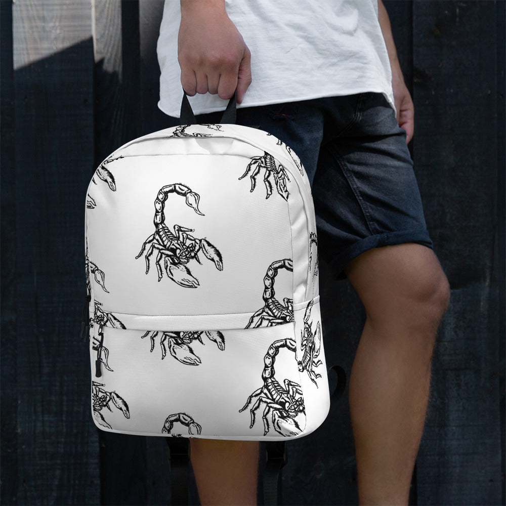 Scorpion Backpack - Hebkid Art