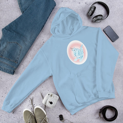 Cotton Candy Unicorn Unisex Hoodie