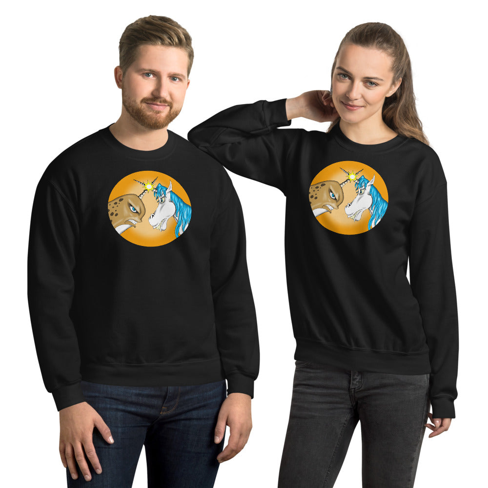 The Battle Begins Unisex Sweatshirt