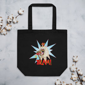 Blam! Eco Tote Bag - Hebkid Art