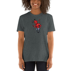 Little Devil Short-Sleeve Unisex T-Shirt - Hebkid Art