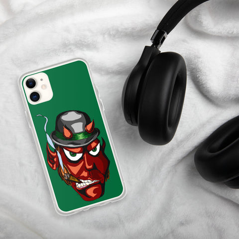Irish Devil iPhone Case