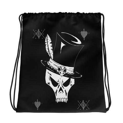 Voodoo King Drawstring bag