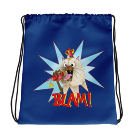 Blam! Drawstring bag - Hebkid Art