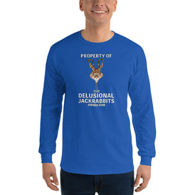 Delusional Jackrabbits Men's Long Sleeve Shirt