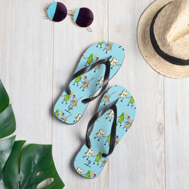 The Peanut Butter Solution Flip-Flops