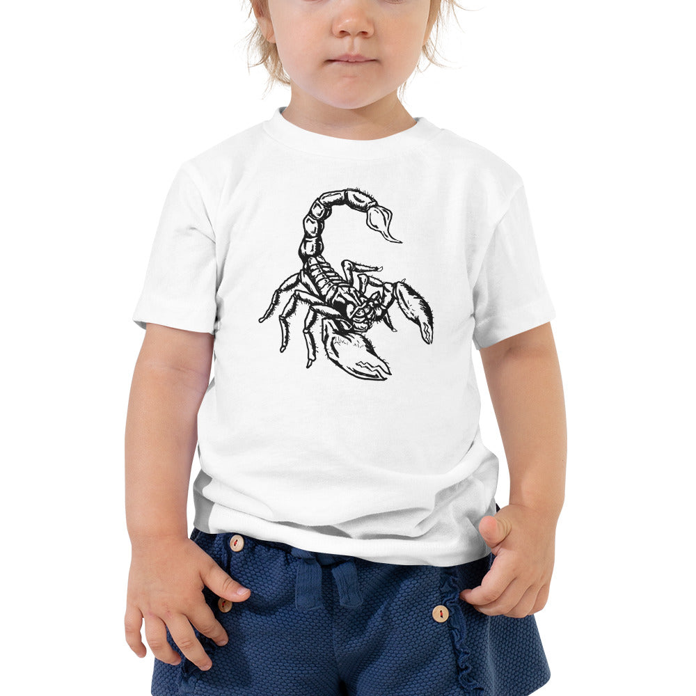 Scorpion Toddler Short Sleeve Tee - Hebkid Art