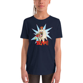 Blam! Youth Short Sleeve T-Shirt - Hebkid Art