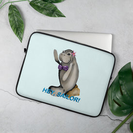 Siren Sea Cow Laptop Sleeve