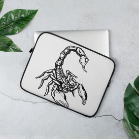 Scorpion Laptop Sleeve - Hebkid Art