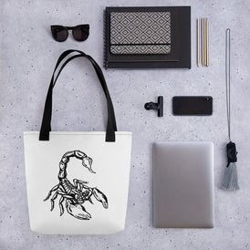 Scorpion Tote bag - Hebkid Art