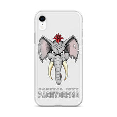 Capital City Pachyderms iPhone Case - Hebkid Art