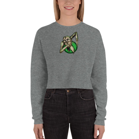 Berserker Sloth Crop Sweatshirt