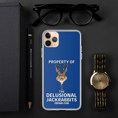 Delusional Jackrabbits iPhone Case