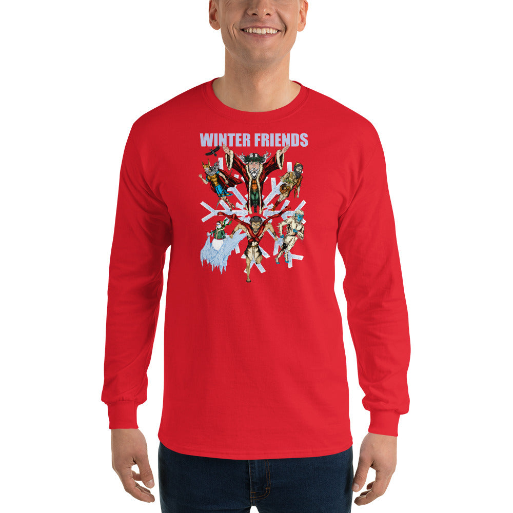 Winter Friends Long Sleeve T-Shirt