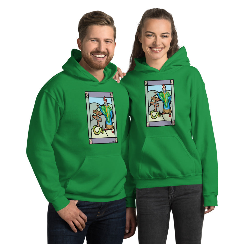 Saint Pat vs The Snake Unisex Hoodie