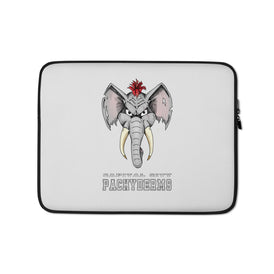 Capital City Pachyderms Laptop Sleeve - Hebkid Art