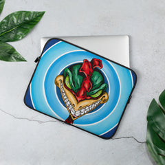 Roasted Laptop Sleeve - Hebkid Art