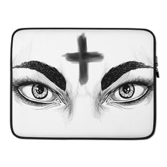 Ash Wednesday Laptop Sleeve - Hebkid Art
