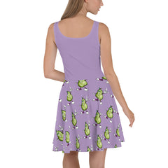 Prickly Pear Skater Dress