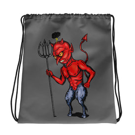Little Devil Drawstring bag - Hebkid Art