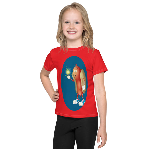 Mesmerized Hot Dog Kids T-Shirt
