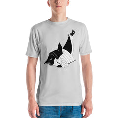 Breakdancin' Penguin Men's T-shirt - Hebkid Art