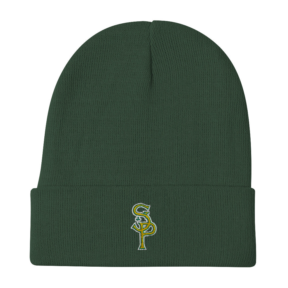 STP Shamrock Embroidered Beanie