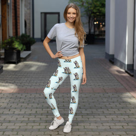 Siren Sea Cow Leggings