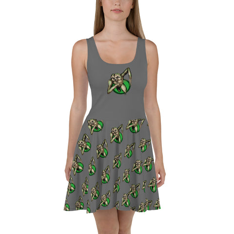 Berserker Sloth Skater Dress