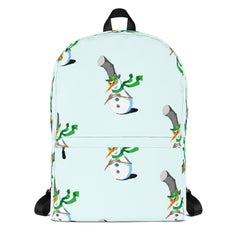 Plotting Snowman Backpack
