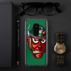 Irish Devil Samsung Case - Hebkid Art