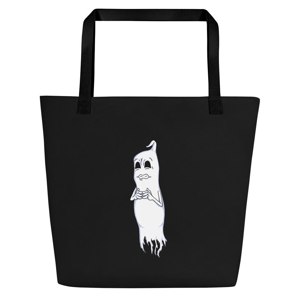 Nervous Ghost Beach Bag