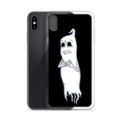Nervous Ghost iPhone Case